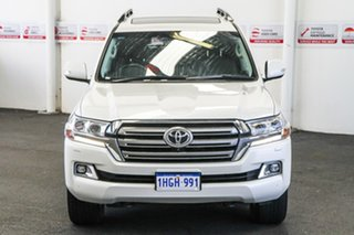 2019 Toyota Landcruiser VDJ200R VX Crystal Pearl 6 Speed Sports Automatic Wagon