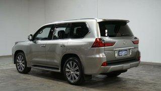 2016 Lexus LX URJ201R LX570 Silver 8 Speed Sports Automatic Wagon.