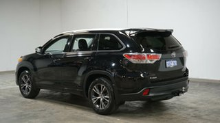 2016 Toyota Kluger GSU55R GXL AWD Black 6 Speed Sports Automatic Wagon.