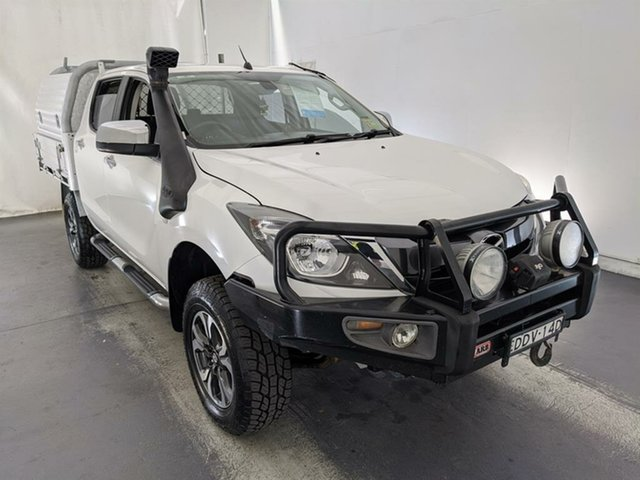 Used Mazda BT-50 UP0YF1 XTR Maryville, 2015 Mazda BT-50 UP0YF1 XTR White 6 Speed Sports Automatic Utility