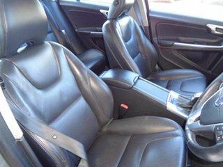 2012 Volvo S60 F Series MY12 T5 PwrShift Silver 6 Speed Sports Automatic Dual Clutch Sedan