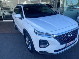2018 Hyundai Santa Fe TM MY19 Highlander White 8 Speed Sports Automatic Wagon