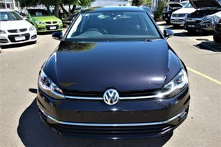 2017 Volkswagen Golf 7.5 MY18 110TSI DSG Highline Black 7 Speed Sports Automatic Dual Clutch