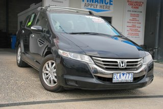 2012 Honda Odyssey RB MY12 Black 5 Speed Automatic Wagon.