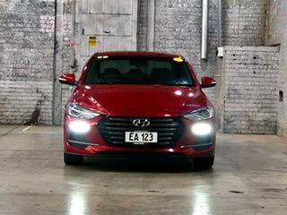 2017 Hyundai Elantra AD MY18 SR DCT Turbo Red 7 Speed Sports Automatic Dual Clutch Sedan.