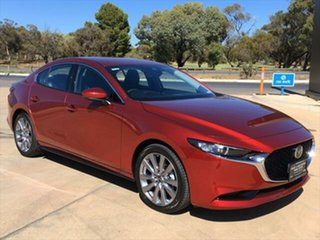 2020 Mazda 3 BP2S7A G20 SKYACTIV-Drive Touring Soul Red Crystal 6 Speed Sports Automatic Sedan.