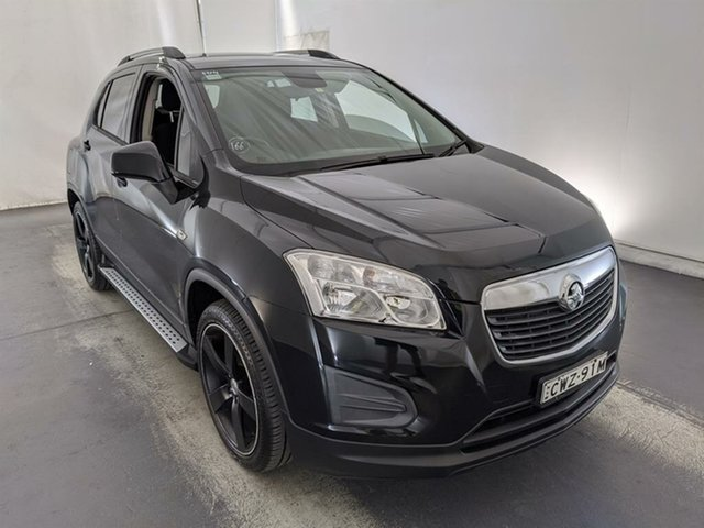 Used Holden Trax TJ MY14 LS Maryville, 2014 Holden Trax TJ MY14 LS Black 6 Speed Automatic Wagon