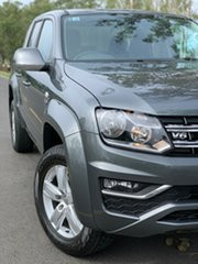 2020 Volkswagen Amarok 2H MY21 TDI550 4MOTION Perm Sportline Indium Grey 8 Speed Automatic Utility.