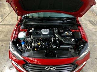 2017 Hyundai Elantra AD MY18 SR DCT Turbo Red 7 Speed Sports Automatic Dual Clutch Sedan