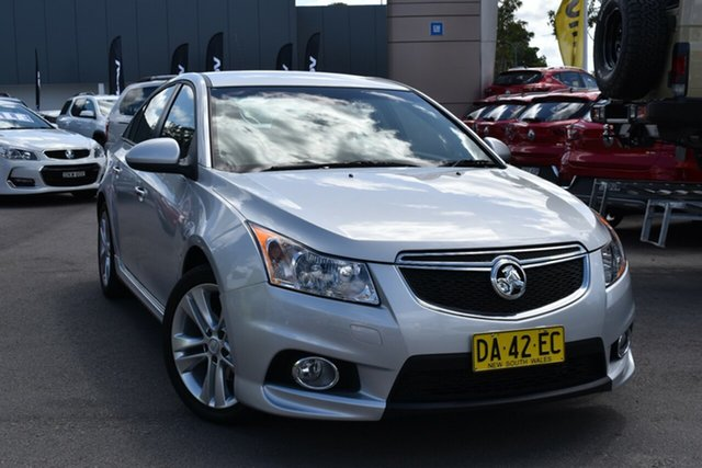 Used Holden Cruze JH Series II MY14 SRi-V Tuggerah, 2013 Holden Cruze JH Series II MY14 SRi-V Silver 6 Speed Sports Automatic Hatchback