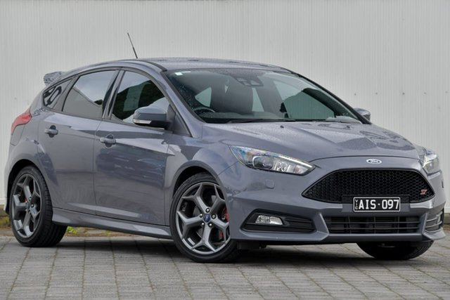 Used Ford Focus LZ ST Dandenong, 2016 Ford Focus LZ ST Grey 6 Speed Manual Hatchback