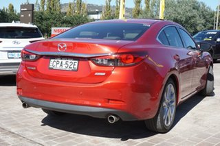 2013 Mazda 6 GJ1021 Atenza SKYACTIV-Drive Red 6 Speed Sports Automatic Sedan