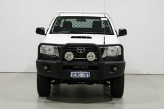 2015 Toyota Hilux KUN26R MY14 SR (4x4) White 5 Speed Manual X Cab Cab Chassis.
