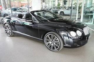 2010 Bentley Continental 3W MY11 GTC Black 6 Speed Sports Automatic Convertible