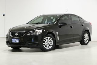 2015 Holden Commodore VF MY15 Evoke Black 6 Speed Automatic Sedan.