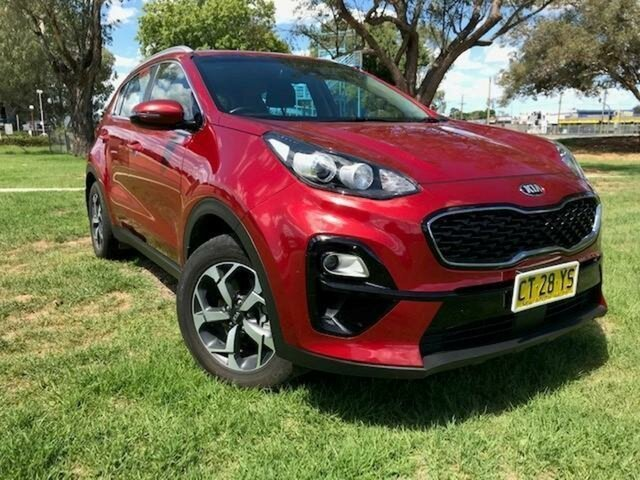 Pre-Owned Kia Sportage QL MY19 SI (FWD) Wangaratta, 2019 Kia Sportage QL MY19 SI (FWD) Red 6 Speed Automatic Wagon