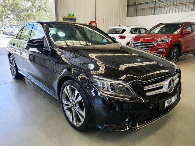 Used Mercedes-Benz C-Class W205 809MY C200 9G-Tronic Epsom, 2018 Mercedes-Benz C-Class W205 809MY C200 9G-Tronic 9 Speed Sports Automatic Sedan