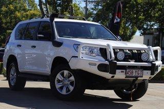 2018 Toyota Landcruiser Prado GDJ150R GX White 6 Speed Sports Automatic Wagon.