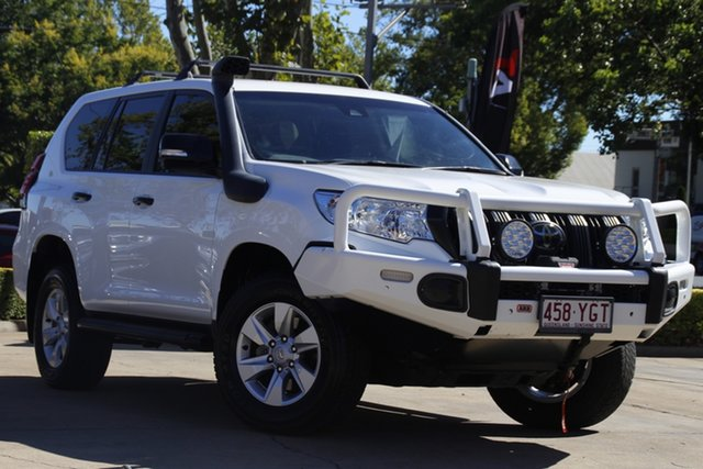 Used Toyota Landcruiser Prado GDJ150R GX Toowoomba, 2018 Toyota Landcruiser Prado GDJ150R GX White 6 Speed Sports Automatic Wagon