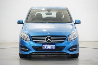 2015 Mercedes-Benz B-Class W246 B180 DCT Sued Lake Blue 7 Speed Sports Automatic Dual Clutch