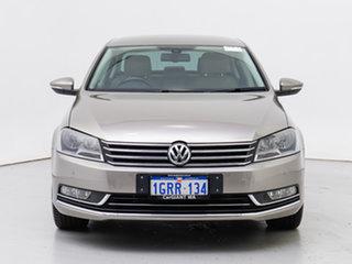 2014 Volkswagen Passat 3C MY14.5 130 TDI Highline Brown 6 Speed Direct Shift Sedan.