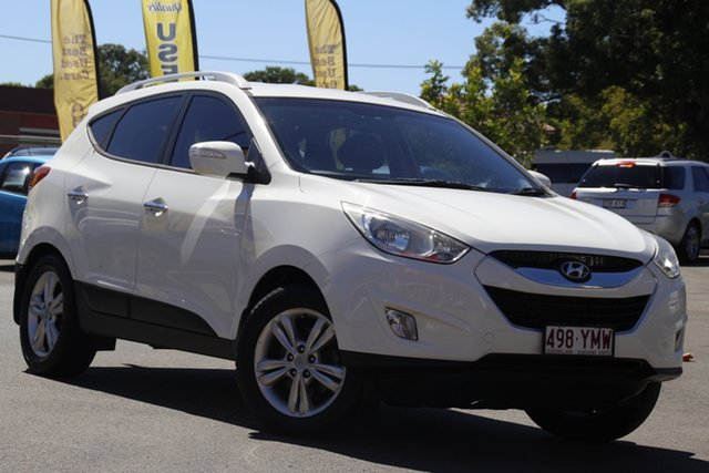 Used Hyundai ix35 LM MY12 Elite AWD Toowoomba, 2011 Hyundai ix35 LM MY12 Elite AWD White 6 Speed Sports Automatic Wagon