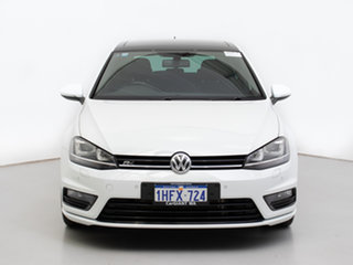2016 Volkswagen Golf AU MY16 110 TSI Highline White 7 Speed Auto Direct Shift Hatchback.