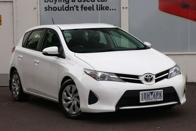 Pre-Owned Toyota Corolla ZRE182R Ascent S-CVT Ferntree Gully, 2014 Toyota Corolla ZRE182R Ascent S-CVT White 7 Speed Constant Variable Hatchback