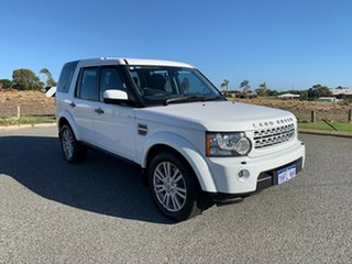 2013 Land Rover Discovery 4 MY13 3.0 TDV6 White 8 Speed Automatic Wagon.