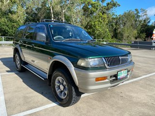 1999 Mitsubishi Challenger PA (4x4) Green 5 Speed Manual 4x4 Wagon.