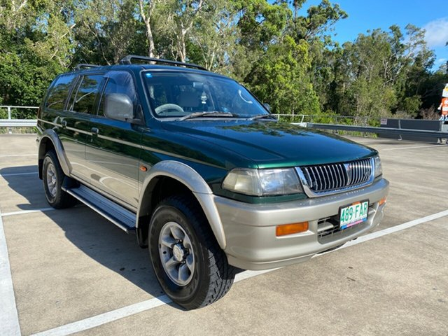 Used Mitsubishi Challenger PA (4x4) Morayfield, 1999 Mitsubishi Challenger PA (4x4) Green 5 Speed Manual 4x4 Wagon