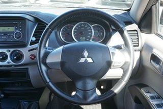 2013 Mitsubishi Triton MN MY13 GL-R Double Cab Grey 4 Speed Sports Automatic Utility