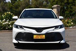 2019 Toyota Camry ASV70R Ascent White 6 Speed Sports Automatic Sedan.