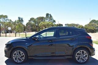 2020 Hyundai Kona Os.v4 MY21 N-Line D-CT AWD Phantom Black 7 Speed Sports Automatic Dual Clutch