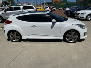 2014 Hyundai Veloster FS MY13 SR Turbo White 6 Speed Automatic Coupe