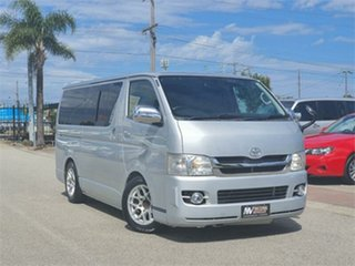 2008 Toyota HiAce KDH201V Super GL Silver Automatic Van.