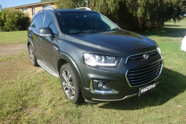 Used Holden Captiva CG MY16 LTZ AWD East Maitland, 2016 Holden Captiva CG MY16 LTZ AWD Grey 6 Speed Sports Automatic Wagon
