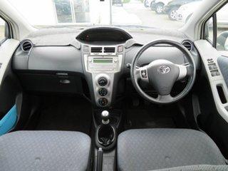 2009 Toyota Yaris NCP91R 08 Upgrade YRS White 5 Speed Manual Hatchback