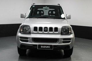 2012 Suzuki Jimny SN413 T6 Sierra Silver 4 Speed Automatic Hardtop.