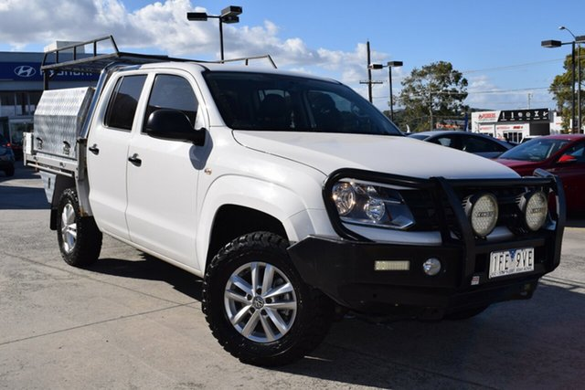 Used Volkswagen Amarok 2H MY15 TDI420 4MOTION Perm Core Ferntree Gully, 2015 Volkswagen Amarok 2H MY15 TDI420 4MOTION Perm Core White 8 Speed Automatic Utility