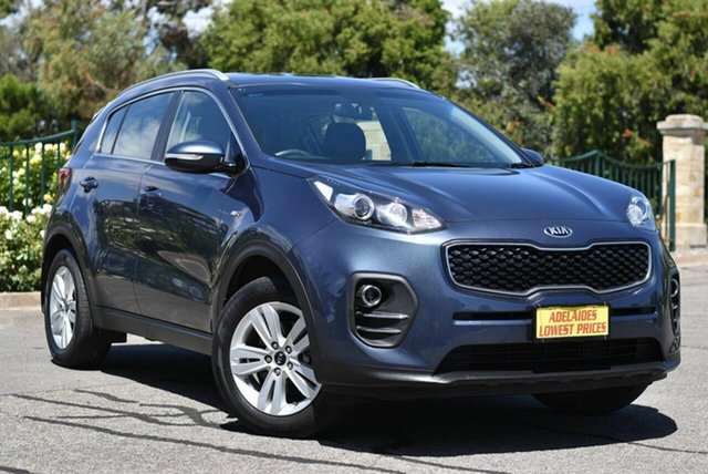 Used Kia Sportage QL MY17 Si AWD Enfield, 2017 Kia Sportage QL MY17 Si AWD Blue 6 Speed Sports Automatic Wagon