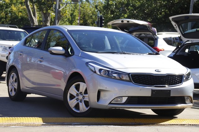 Used Kia Cerato YD MY17 S Toowoomba, 2016 Kia Cerato YD MY17 S Silver 6 Speed Sports Automatic Sedan