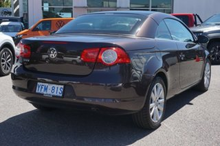 2007 Volkswagen EOS 1F TDI Brown 6 Speed Manual Convertible
