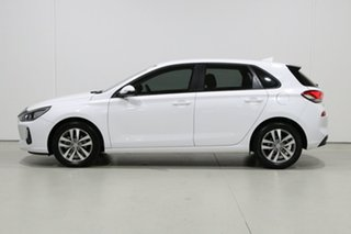 2018 Hyundai i30 PD Active White 6 Speed Auto Sequential Hatchback