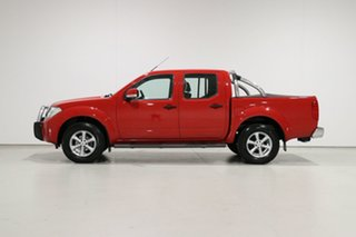 2014 Nissan Navara D40 MY12 Upgrade ST (4x4) Red 6 Speed Manual Dual Cab Pick-up