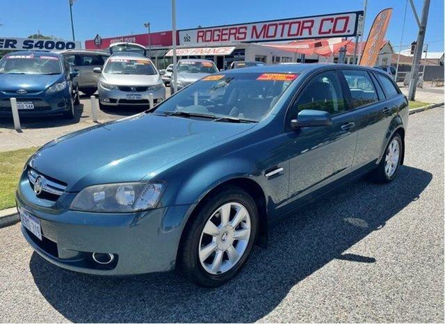 Used Holden Berlina VE MY09.5 Victoria Park, 2009 Holden Berlina VE MY09.5 Blue 4 Speed Automatic Sportswagon