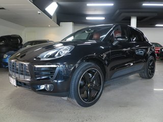 2016 Porsche Macan 95B MY17 S PDK AWD Black 7 Speed Sports Automatic Dual Clutch Wagon.
