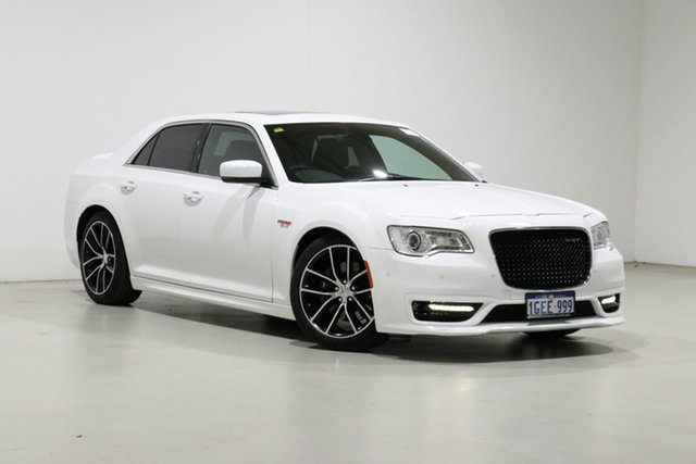 Used Chrysler 300 MY17 SRT Core Bentley, 2017 Chrysler 300 MY17 SRT Core White 8 Speed Automatic Sedan