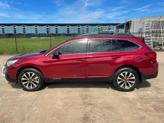 2017 Subaru Outback B6A MY17 2.5i CVT AWD Red/301117 6 Speed Constant Variable Wagon