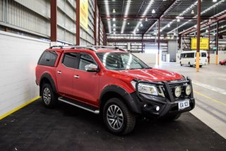 2017 Nissan Navara D23 Series II ST-X (4x4) (Sunroof) Red/Black 7 Speed Automatic Dual Cab Utility